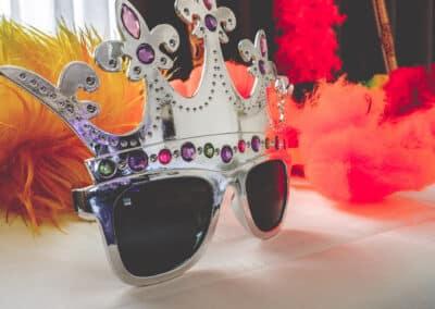"Sonnenbrille, Utensilien, Sofortausdruck Fotobooth die ""Knipskiste"""