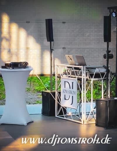 DJ Jülich Blumenhalle Brückenkopfpark