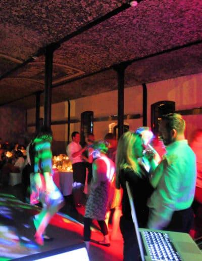 Tanzfläche Gut Hohenholz Hochzeit